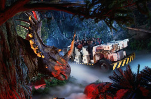 disney world animal kingdom dinosaur ride