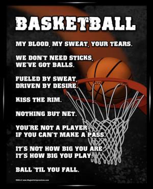Home Basketball Basketball Poster Print
