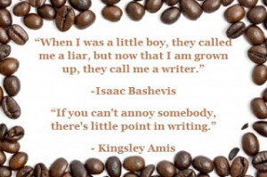 Coffee Beans and Quotes