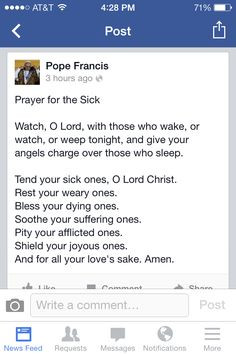 Prayer For The Sick Quotes