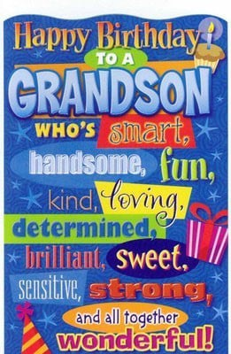 Happy Birthday Wishes For Grandson Birthday Message For Dad Who