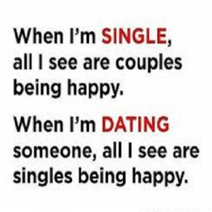 Single and Dating Quote