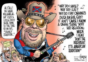 hank williams jr accident stations up here dont sign off with dixie
