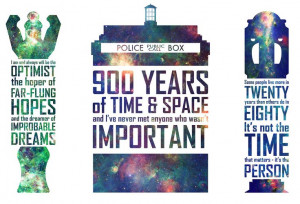 Geek Art Gallery: Posters: Doctor Who Quotes