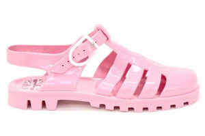 jelly light pink jellies juju pale pink jelly sandals jelly beans ...
