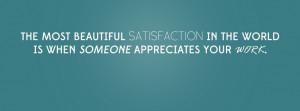 Appreciation Quote Facebook Cover