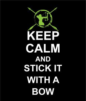 Women's Bow Life Keep Calm Short Sleeve T-Shirt