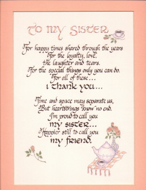 poems for sister sister quotes and poems search