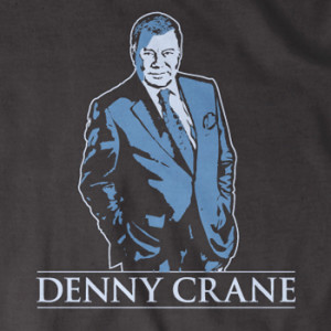greatest characters, this is a priceless Denny Crane fan T-shirt