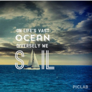 sailing #sail #quote #inspiration #onthewater More