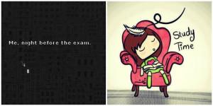Wish me Luck! En dat natuurlijk ook voor alle andere studenten die nog ...