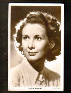 DINAH SHERIDAN MOVIE ACTRESS PICTUREGOER W749 REAL PHOTO RPPC c 1940s