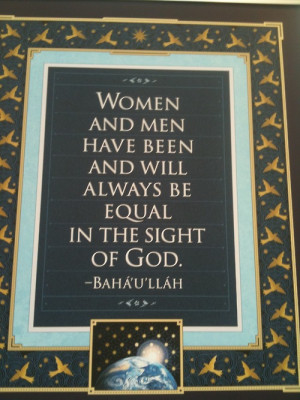equality #baha'i #Baha'u'llah #quote