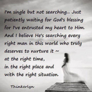 Christian Quotes About Being Single. QuotesGram