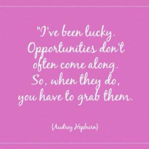 Audrey Hepburn quote | audrey