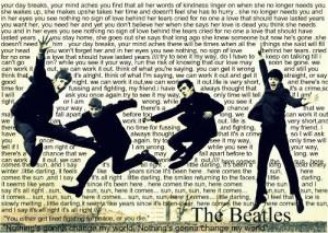 beatles, boys, famous, lyrics, music, words