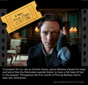 XMen First Class movie facts