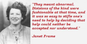 Janet frame famous quotes 4