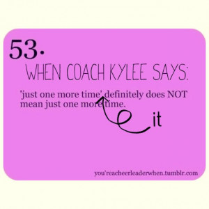 Cheer Quotes For Coaches When your cheer coach says.