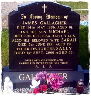 Memorial Headstones Inscriptions Examples