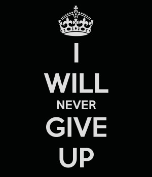 Search Results for: I Will Never Give Up On You Quotes