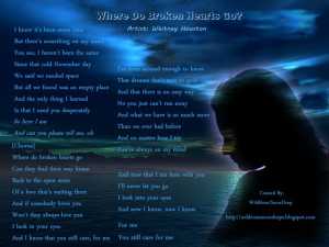 Whitney Houston - Where do broken hearts go?