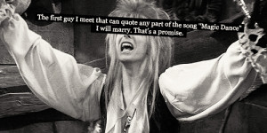 ... labyrinth labyrinth confessions quote magic dance david bowie jareth