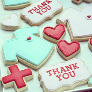 How to Use Tappit Cutters {& Thank You Nurse Decorated Cookies}
