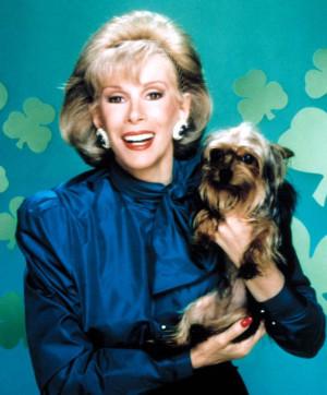 joan rivers dog Joan Rivers Quotes