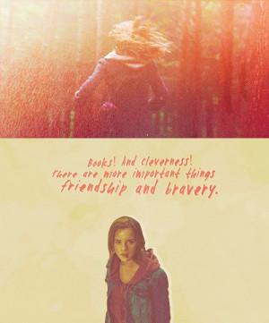 books, emma watson, friendship, harry potter, hermione, hermione ...