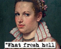 Dorothy Parker What Fresh Hell Is T his Quote Art Print (p427) ...