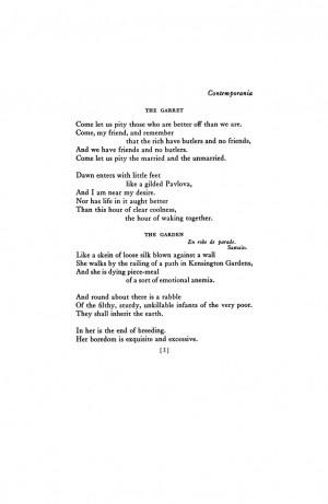 EZRA POUND April 1913 : Poetry Magazine