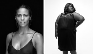Paula Patton and Gabourey Sidibe from the movie Precious (NY Times)