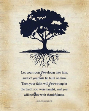 mrtrueman:Him being YAHUAH!Colossians 2:7