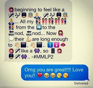 Emoji Love Quotes
