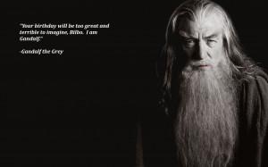 Star Wars Black Gandalf...