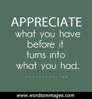 Best Friend Appreciation Quotes