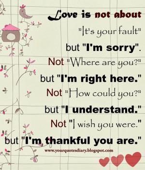 Im Sorry Quotes For Girlfriends ~ And Im Sorry - QuotePix.com - Quotes ...