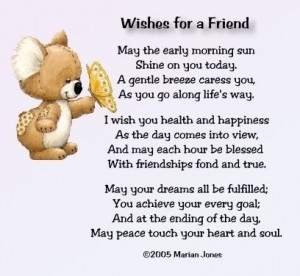 Wishes for friends - keep-smiling Photo