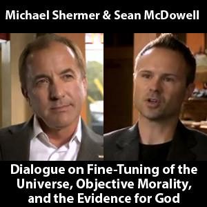 Sean McDowell and Michael Shermer Dialogue Videos