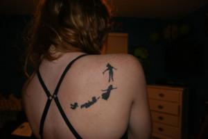 Peter Pan Star Tattoos Peter pan tattoo quotes