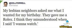 Will Ferrell Twitter random