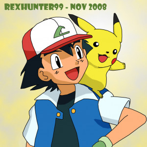Ash and Pikachu - Friends by latyle