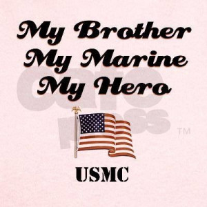 Marine Sister Proud Baby...