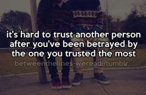 trust #brokenpromises #betrayed #life