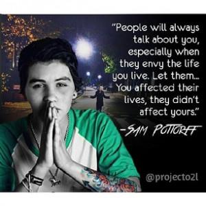 Sam Pottorff Instagram