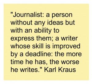 writerquote -- Karl Kraus