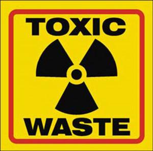 Toxic Waste Can Harmful...