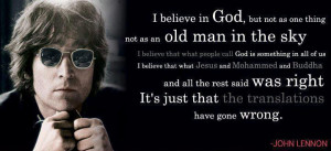 Believe In God, But Not As One Thing Not As An Old Man In The Sky ...