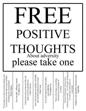 with more you think out of positive thinking quotes printables with ...